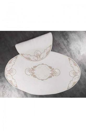 Cream Home Textile 16569