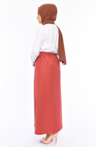 Plated Waist Skirt 1001A-01 Tile 1001A-01