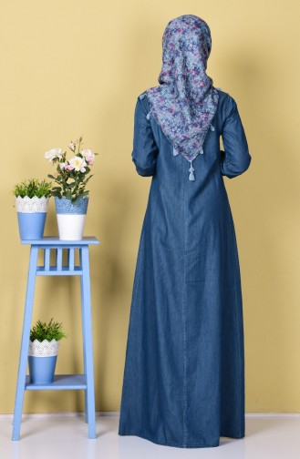 Robe Jean 4401-02 Bleu Foncé 4401-02