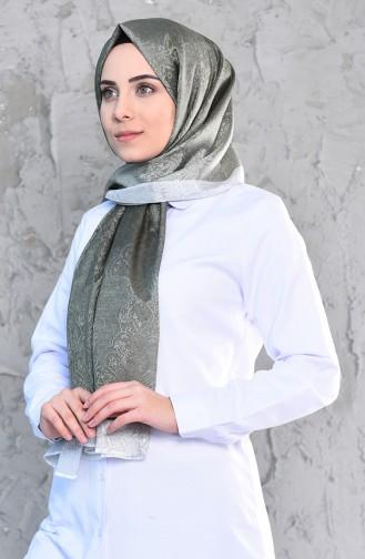 Karaca Monogram Şal Eşarp 90574-09 Yeşil 90574-09