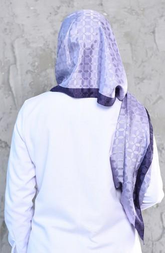 Karaca Monogram Châle Echarpe 90575-13 Lila Pourpre Clair 90575-13