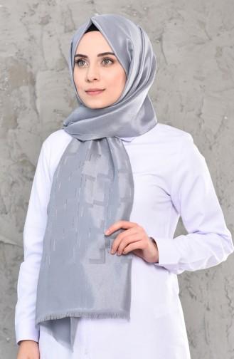 Silver Gray Shawl 44014-198