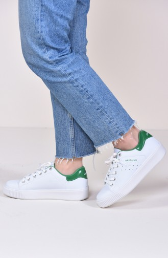 Green Sport Shoes 0778-02