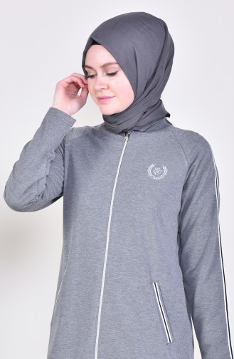 Zippered Tracksuit 1050-05 Anthracite 1050-05