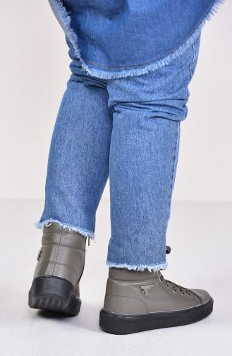 Women s Boots 0810-04 Khaki 0810-04