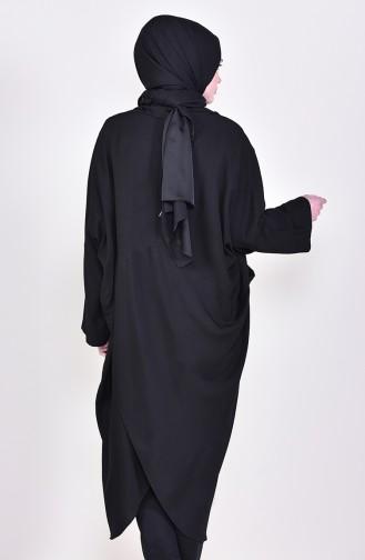 Black Poncho 6705-01