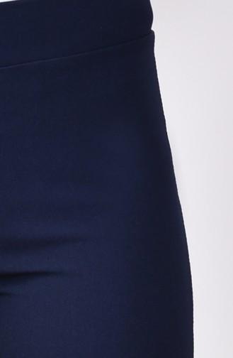 Gabardin Spanish Leg Pants  2300B-01 Navy Blue 2300B-01
