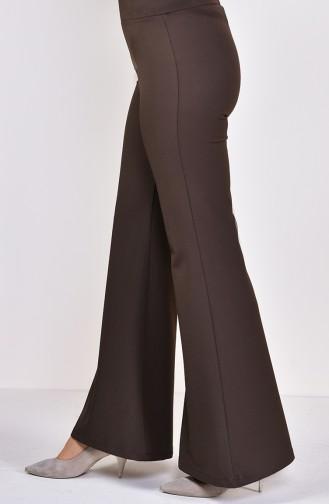 Gabardin Spanish Leg Pants  2300B-05 Khaki 2300B-05