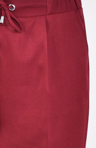 Pantalon a Lacets 1953-01 Bordeaux 1953-01