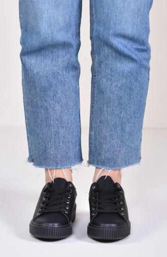 Black Sport Shoes 0778-06