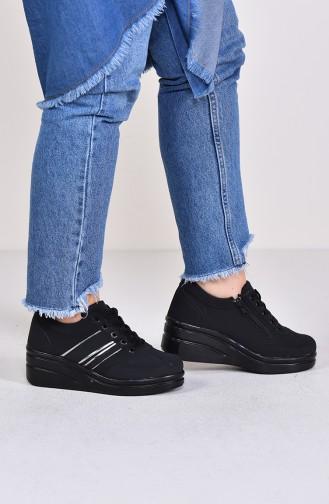 Black Sport Shoes 0101-06