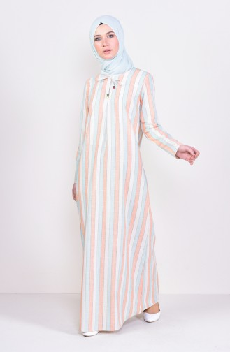 Striped A Pile Dress 6366-01 Tile 6366-01