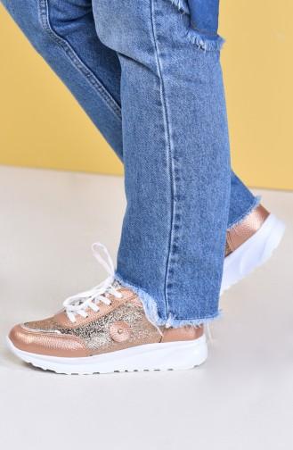 Bronze Sport Shoes 0755-04