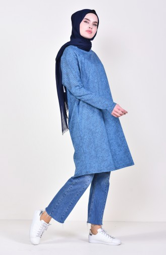 Tunique Bleu Pétrole 7831-01