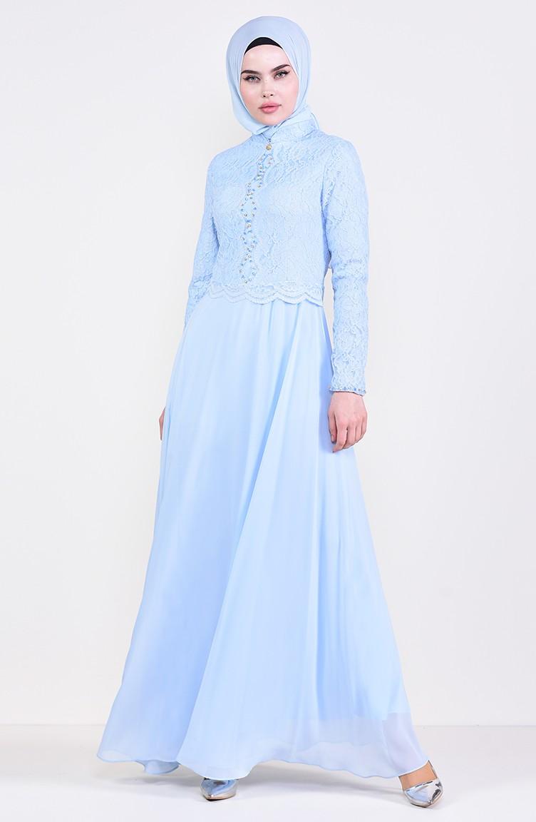 dc89728eb1 Stone Evening Dress 5078-03 Baby Blue 5078-03