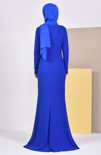 Stone Evening Dress 6001-03 Saks 6001-03