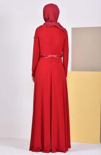 Robe de Soirée 6002-03 Rouge 6002-03