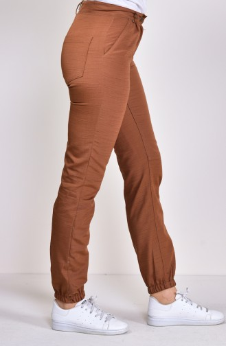 Pocket Cargo Pants  2075A-01 Tobacco 2075A-01