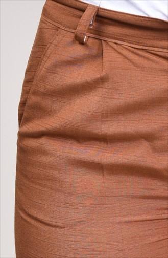 Pantalon avec Poches 2075A-01 Tabac 2075A-01