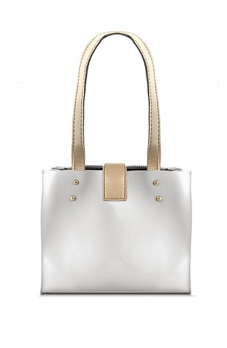 White Shoulder Bags 10570BE