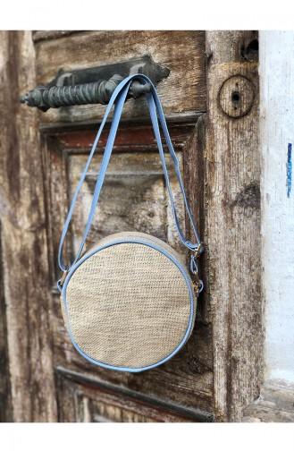 Women´s Cross Shoulder Bag U13-03 Baby Blue 13-03