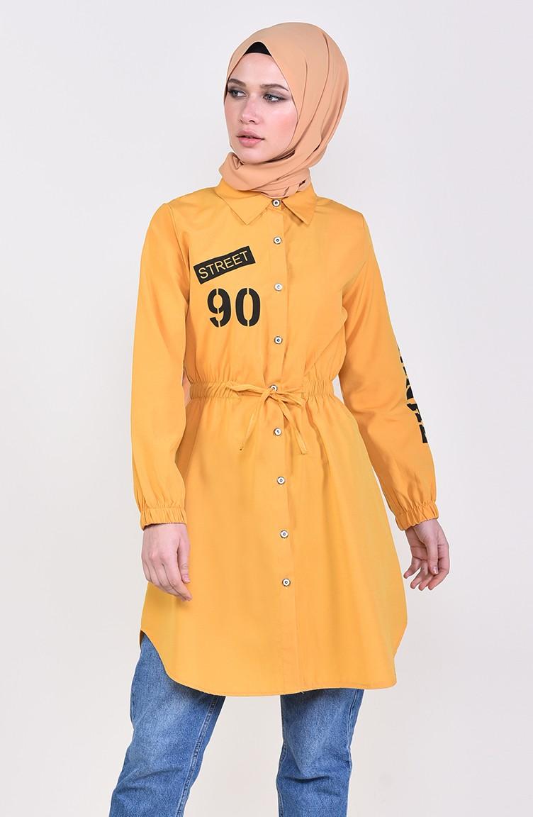 b7ef16139b9 Yellow Tunic 4145-03 ...