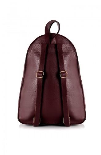 Claret red Belly Bag 10576BO