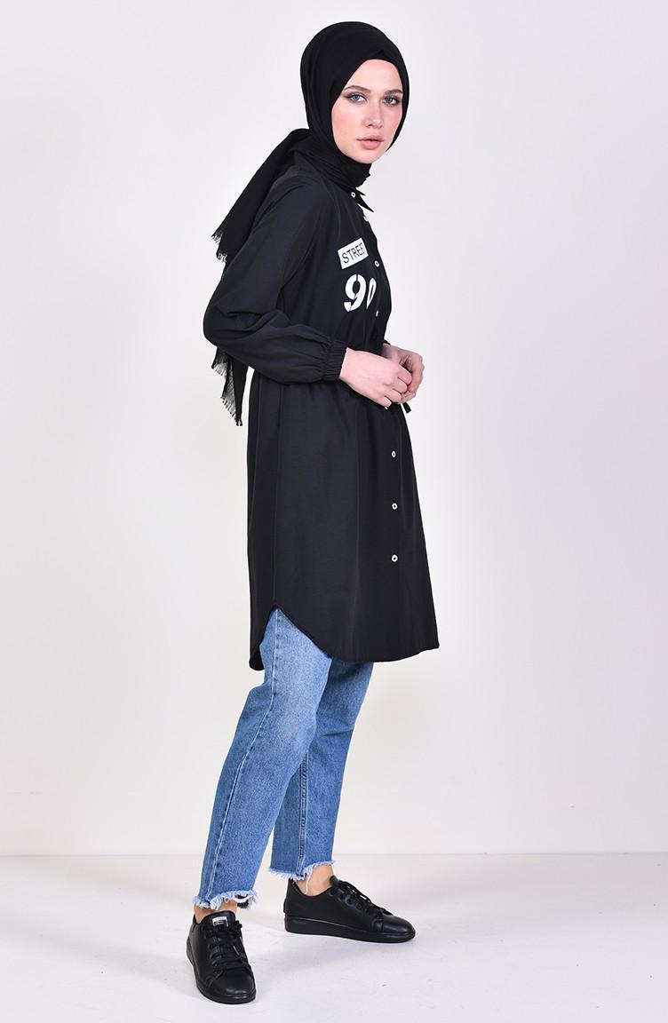 0f4112b88c6 Black Tunic 4145-01