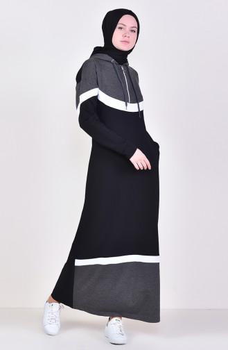 Robe Sport a Fermeture 9038-02 Noir Antracite 9038-02