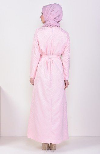 Jacquard Dress 6367-01 Powder 6367-01