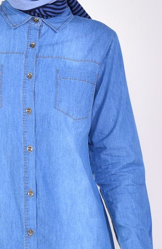 Jeans Blue Tunic 9033-01