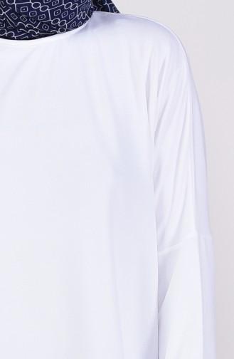 Yarasa Kol Ara Boy Tunik 7842-02 Ekru