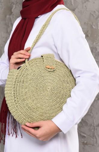 Cream Shoulder Bag 1011-01