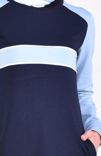 Cepli Spor Elbise 8310-01 Lacivert 8310-01