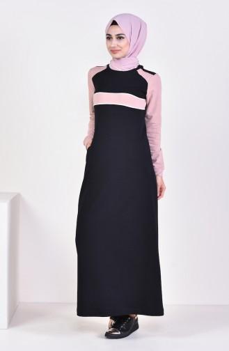 Pocket Sport Dress 8310-07 Black 8310-07