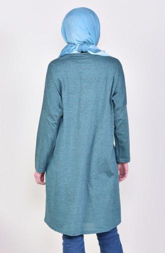 Yarasa Kol Tunik 7839-01 Yeşil