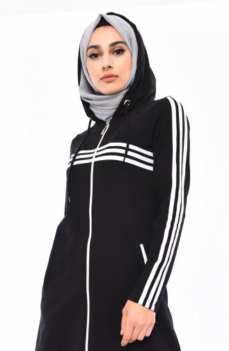 Black Sweatsuit 8392-02