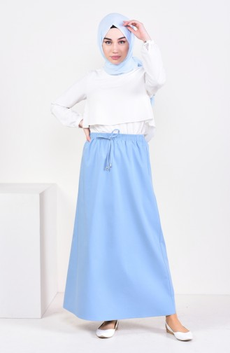 Plated Waist Skirt 1001-04 Blaue 1001-04