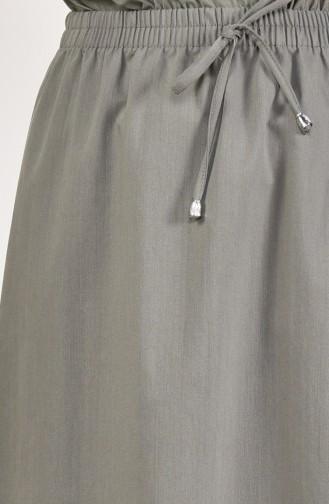 Plated Waist Skirt 1001-08 Green 1001-08