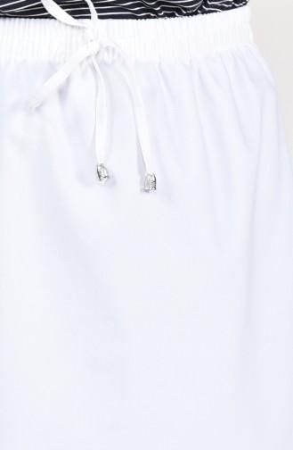 Plated Waist Skirt 1001D-10 light Beige 1001D-10