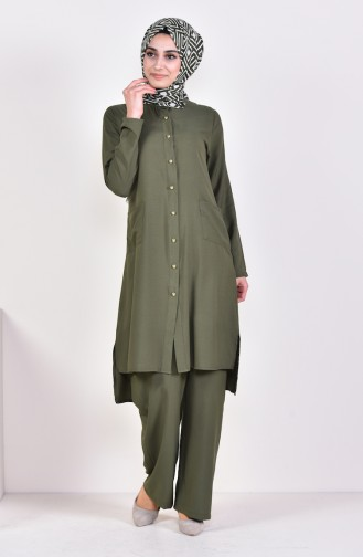 Tunic Pants Binary Suit 1197-04 Green 1197-04
