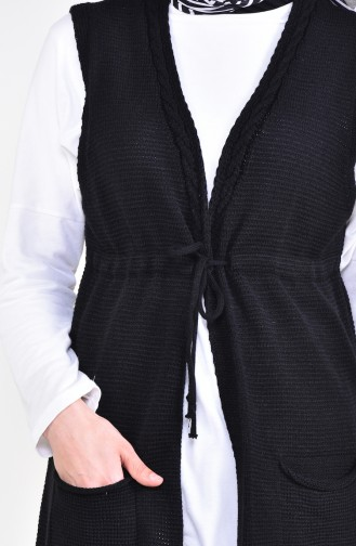 Pocket Vest 4130-02 Black 4130-02