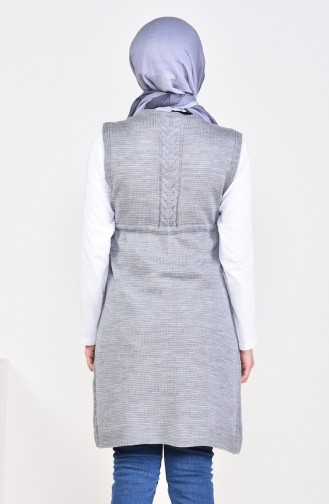 Pocket Vest 4130-04 Light Gray 4130-04