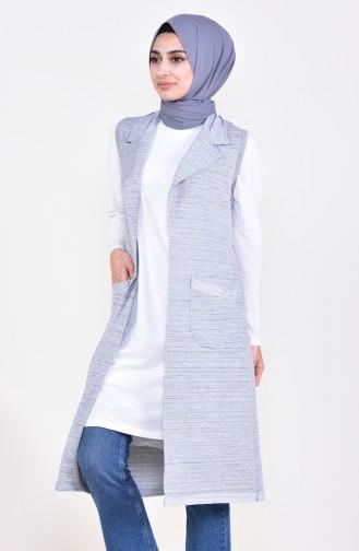 Pocket Vest 10615-01 Gray 10615-01