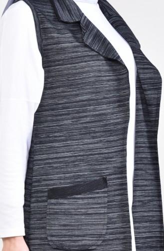 Pocket Vest 10615-03 Black 10615-03