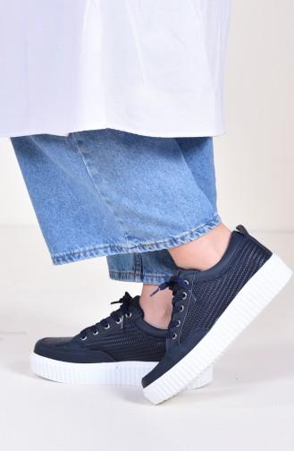 Chaussure de Sport Femme 0780-02 Bleu Marine 0780-02