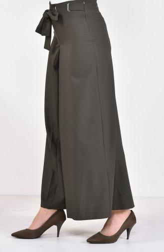 Belted Pants Skirt 31247-04 Khaki 31247-04