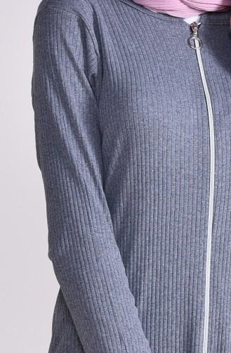 Cardigan Pants Binary Suit 3300-15 Gray 3300-15