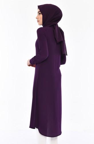 Necklace Tunic 4165-01 Purple 4165-01