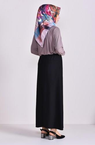 Pocket Skirt 1122-01 Black 1122-01